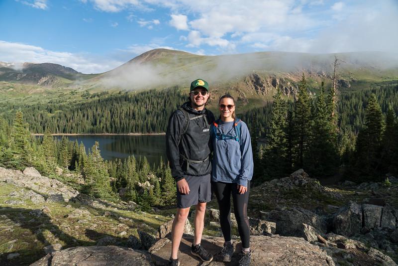 Jordan and Evan - Hiking in the Rockies!