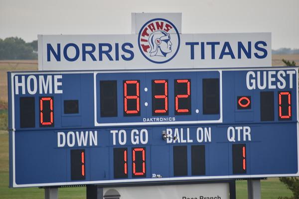 7th grade football vs. Waverly