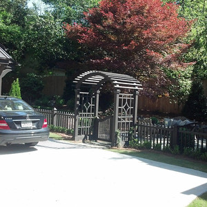 Entrance Garden Pergola