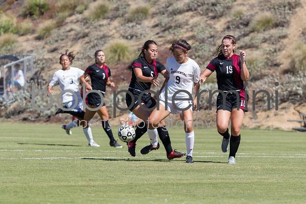 Oxy Women's Soccer vs Chapman 9-19-15