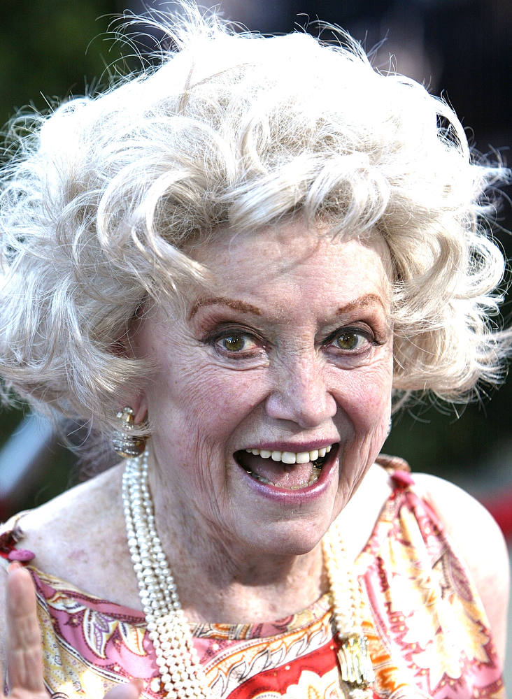 . Actress Phyllis Diller. (Photo by Mark Mainz/Getty Images)