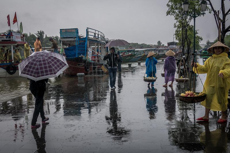 Rainy days in Hoi An, Vietnam