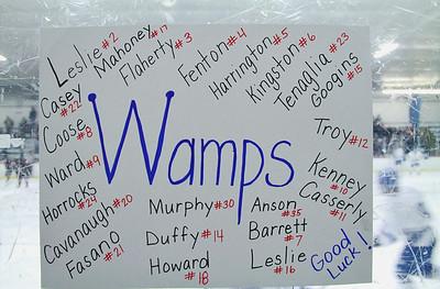 Wamps Hockey vs Brockton Feb 24