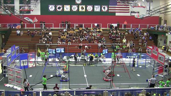 Indiana Robotics Invitational - Match Videos 2013