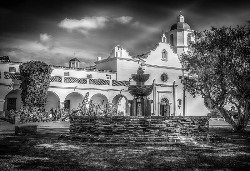 Mission San Luis Rey B&W.jpg
