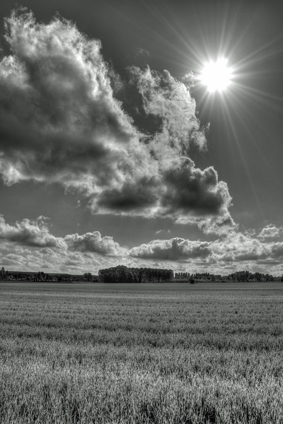 Clouds - Strada Grande, Modena, Italy - April 13, 2011