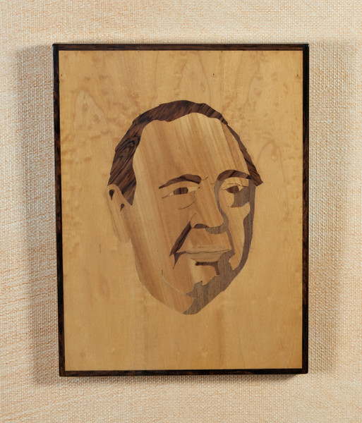 Marquetry, Charles Laughton