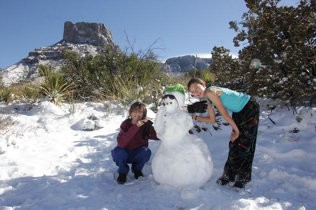 Beta Snowman