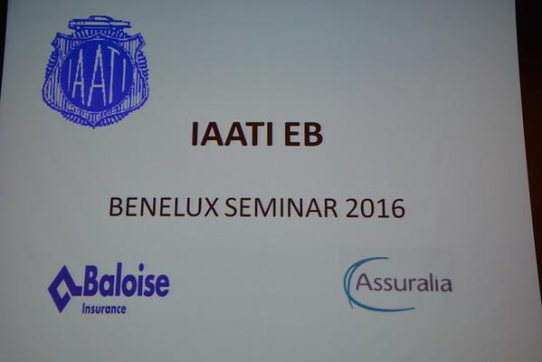 2016 IAATI  Benelux Seminar Gent