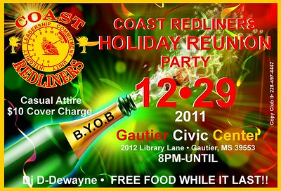 Coast Redliners Holiday Reunion