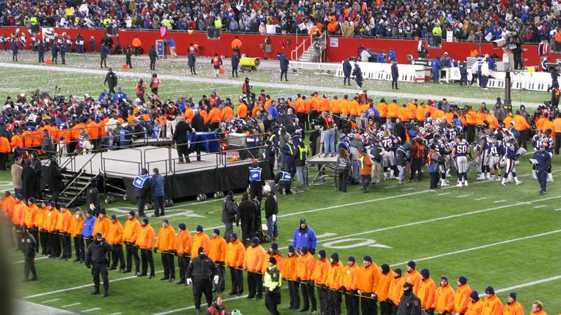 2007 AFC Championship Game - New England Patriots vs San Diego Chargers 1/20/2008 - New England 21 San Diego 12