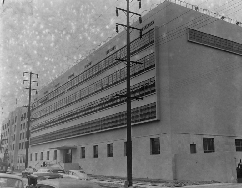 1950, New Jail and Courts