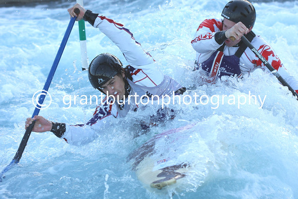 Final British Slalom Canoe Open 2013 - Mens Canadian Doubles C2