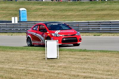 2020 SCCA TNiA July 29 Pitt Race Adv Red Kia RC
