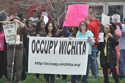 Travon Martin Protest March 23, 2012