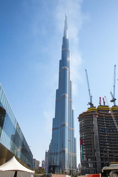 Burj Khalifa, Dubai - January, 2016