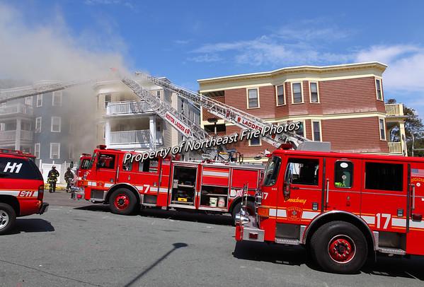 Boston- 5th Alarm- Fairmount St- 8/16/12