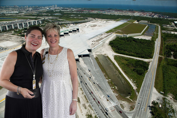 Airport South Runway Opening September 18, 2014.