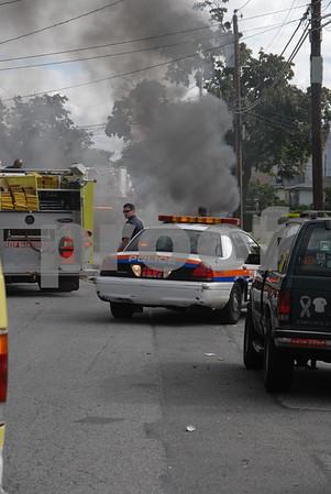 Car Fire 9-17-2007