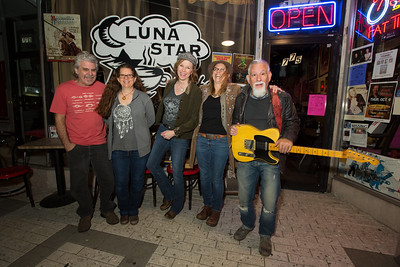 February 20th, 2015 Magda Hiller with Diane Ward Band at Luna Star Cafe