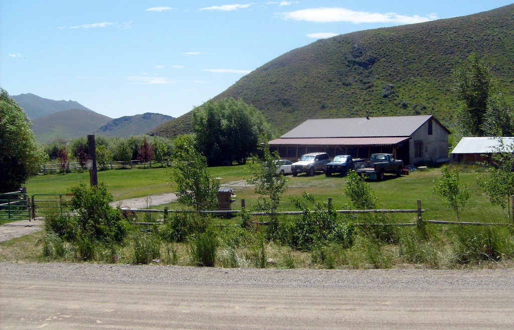 . The childhood home of Pfc. Bowe R. Bergdahl, taken prisoner nearly three weeks ago in Afghanistan by members of a Taliban group, sits in the high sage desert just off a gravel road about six miles west of Hailey, Idaho on Sunday July 19, 2009.   (AP Photo/John Miller)