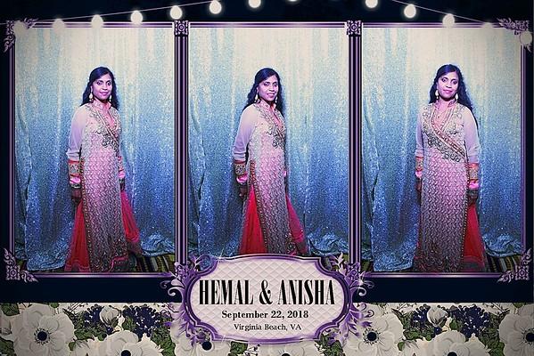 THE WEDDING OF HEMAL AND ANISHA