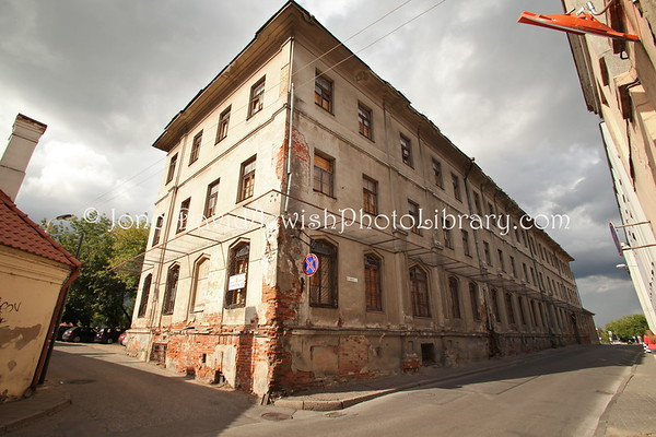 LITHUANIA, Kaunas. Jewish hospital (former), Jaksto Street. (9.2011)