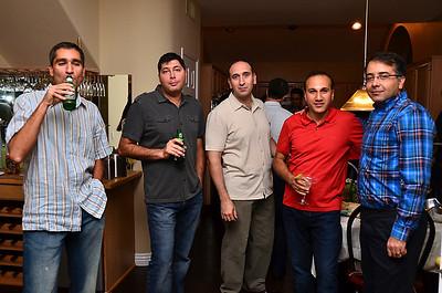 At Amir's, Sept. '11