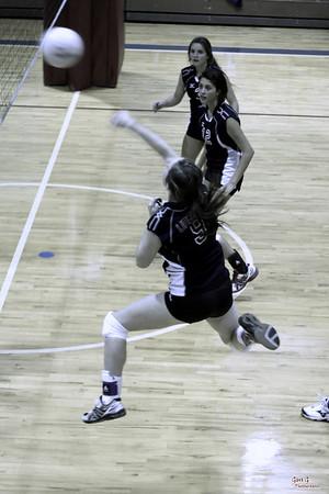 UA Frosh Volleyball - District - UA vs TCA (9/16/2010)