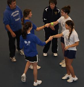 Girls Tennis - GAPC 2009