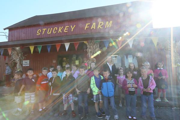 Kindergarten Field Trip to Stuckey Farm