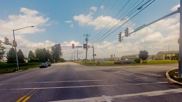 Driving through Pennsylvania