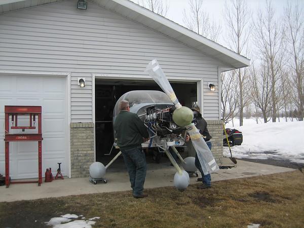 Move to Hangar