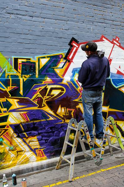 Street art at Blyth Street