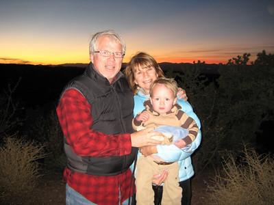Thanksgiving  in Santa Fe - 2007
