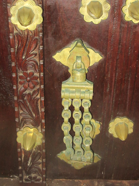 023_Zanzibar Stone Town. Tembo House Hotel. 1834. The door of my room.JPG