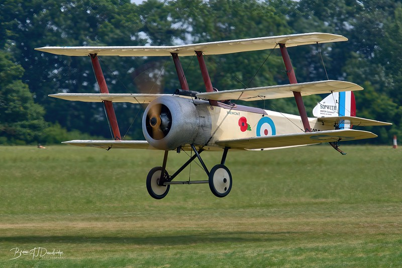 Sopwith Triplane gets airborne