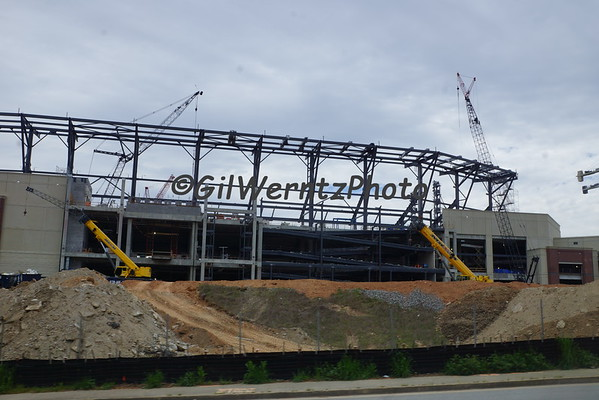 Cobb County Stadium for the Braves