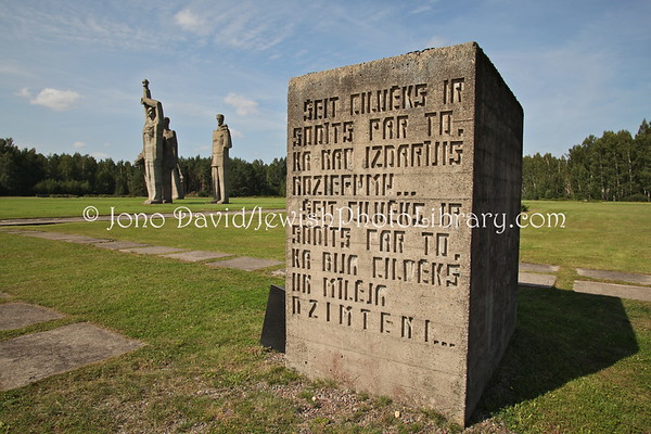LATVIA, Salaspils (Riga). Salaspils concentration camp site. (8.2011)