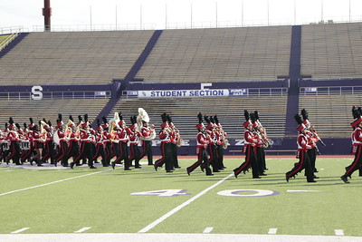 The Shelbyville High School Dragon Band's 2019 UIL Marching Contest Performance