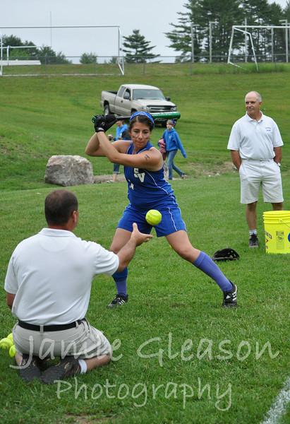 Hawks Softball Seniors Game 2012