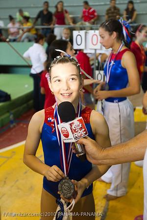 Nuestras Estrellas Gimnásticas en los Juegos Centroamericanos