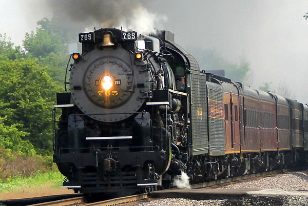 Nickel Plate 765 to Lafayette 7/18/2015