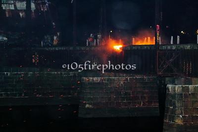 Providence, RI Crook Point Bascule Bridge Fire 5/18