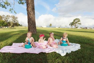 Four Babies & a Cake Smash