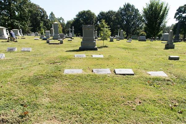 Gravestones - Stockstrom Family