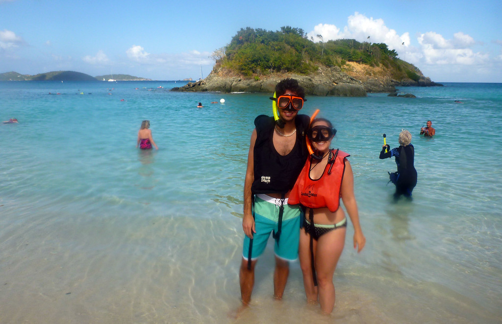 Best Snorkeling in the Caribbean - Trunk Bay, St John