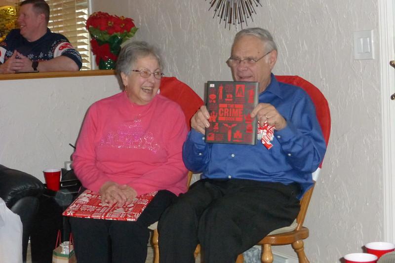 Bob received a crime book.