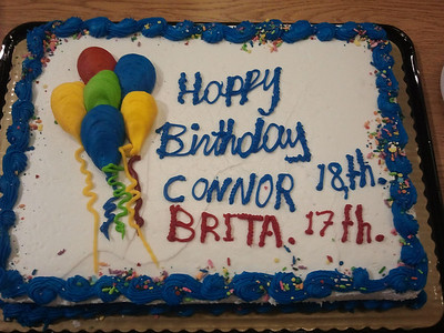 Connor turns 18