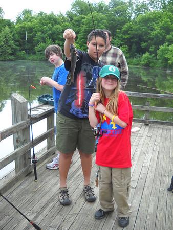 Troop 1313 Fishing Trip May 2010
